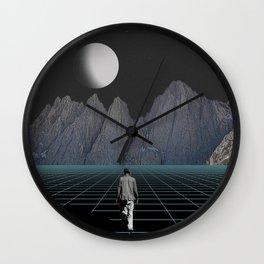 Wherever I May Roam Wall Clock
