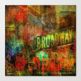 Slice of Broadway Canvas Print