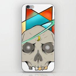 Star skull iPhone Skin