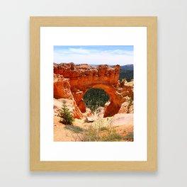 Natural Bridge - Bryce Canyon Framed Art Print