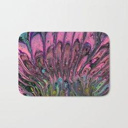 Pink Peacock Bath Mat