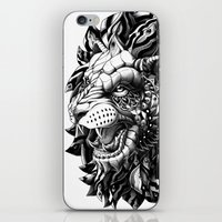 bioworkz iPhone & iPod Skins featuring Lion by BIOWORKZ
