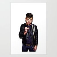 alex turner Art Prints featuring Alex Turner  by Trash Boat
