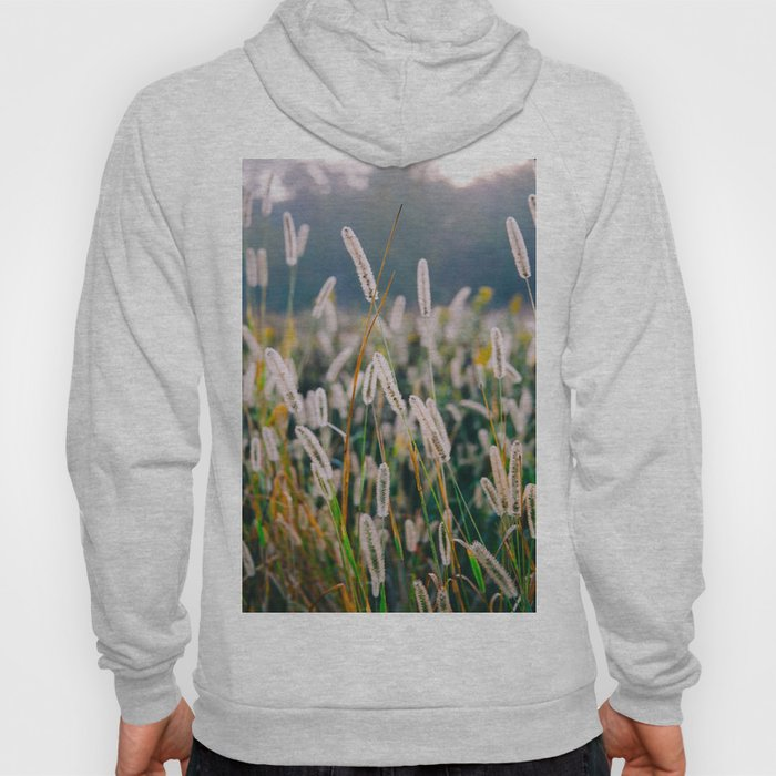Field of Wild Weeds Morning Glow Hoody