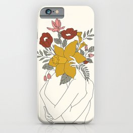 Colorful Blossom Hug iPhone Case