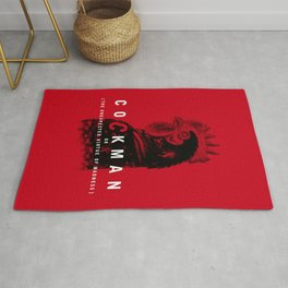 Cockman or The Unexpected Virtue of Madness Rug