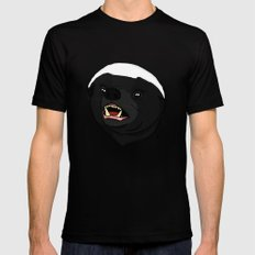 Honey Badger Black LARGE Mens Fitted Tee