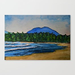 Mackenzie Beach Canvas Print
