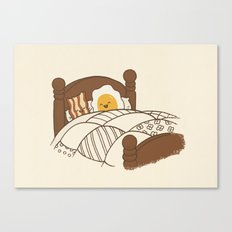Breakfast In Bed  Canvas Print