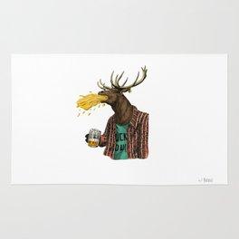 natural series- oh my deer Rug