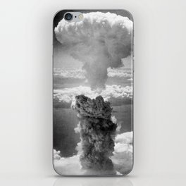 Mushroom Cloud Over Nagasaki iPhone Skin