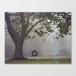 Sycamore Tree Canvas Print