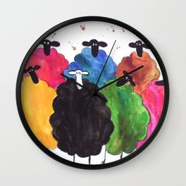 It's Cool to be Different Wall Clock