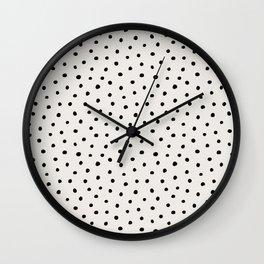 Perfect Polka Dots Wall Clock