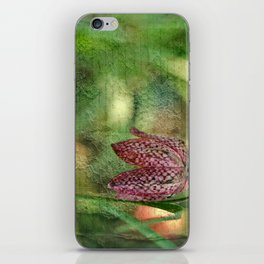 Every flower enjoys the air it breathes... iPhone Skin