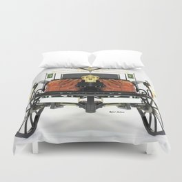 We know its old Duvet Cover