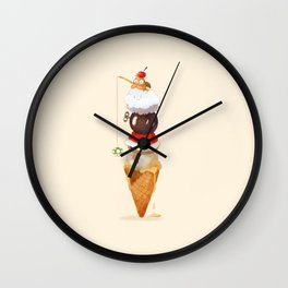 Scoop-A-Koopa Wall Clock