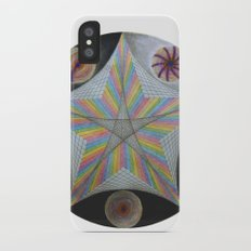 Galactic Pentagram (ANALOG zine) iPhone X Slim Case