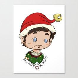 MerryXmas- Elf Rogers Canvas Print