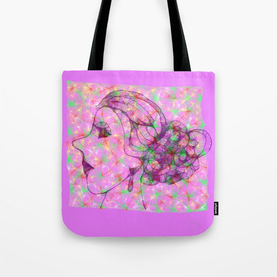 Holiday Hairdo Tote Bag