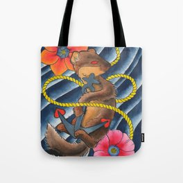 Don't Weasel Around Tote Bag