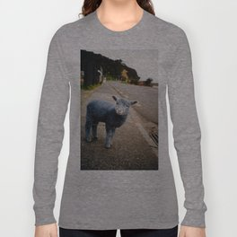 Blue? Sheep? Long Sleeve T-shirt