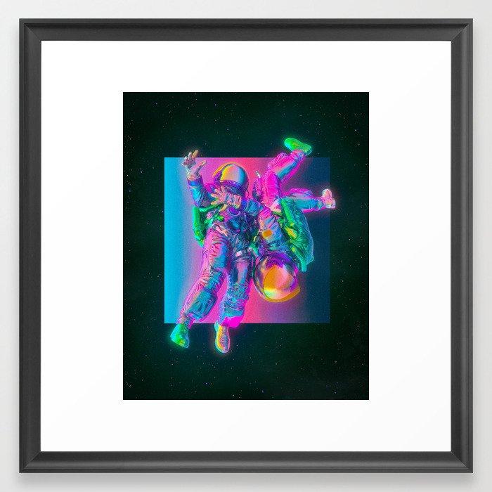 FREEFALL (everyday 01.15.19) Framed Art Print