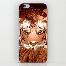 Sherock the Tiger iPhone & iPod Skin