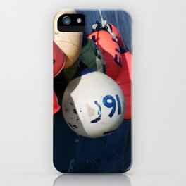 Fishing Buoy Photography Print iPhone Case