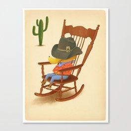 Howdy Canvas Print