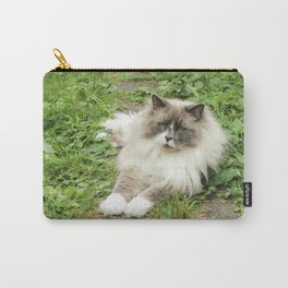 Lord Niles the Ragdoll Carry-All Pouch