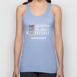 Fart for Freedom Unisex Tank Top