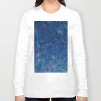 blues Long Sleeve T-shirts featuring BLUES by Dash of noir