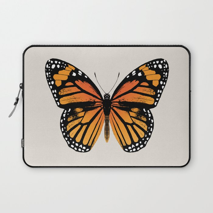 Monarch Butterfly   Vintage Butterfly   Laptop Sleeve