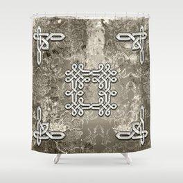 Wonderful celtic knot Shower Curtain