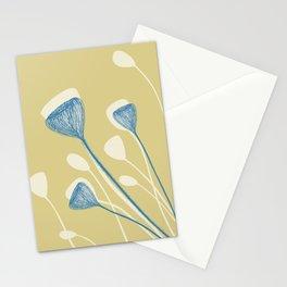 Organic shape2 Stationery Cards