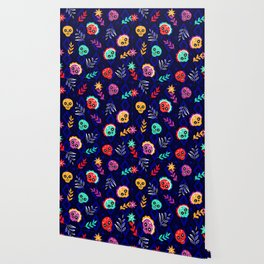 Fiesta Skulls #society6 #skulls Wallpaper