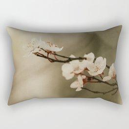 textured blossom  Rectangular Pillow