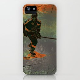 The Game Changer - Ice Hockey Tournament iPhone Case
