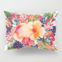 Autumn watercolor bouquet Pillow Sham