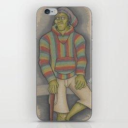RastaFrankian iPhone Skin