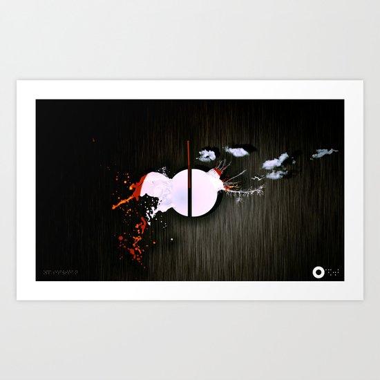 dot Art Print
