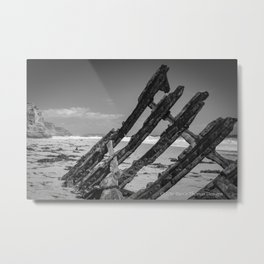 THE ETHEL - Ship Wreck Metal Print