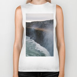 Waterfall Layers Biker Tank