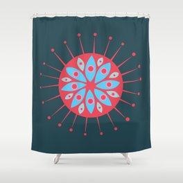 Radiolarian 7 Shower Curtain