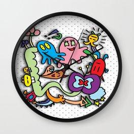 Doodles  Wall Clock