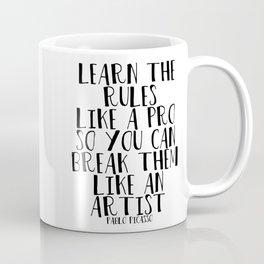 Learn the Rules Coffee Mug