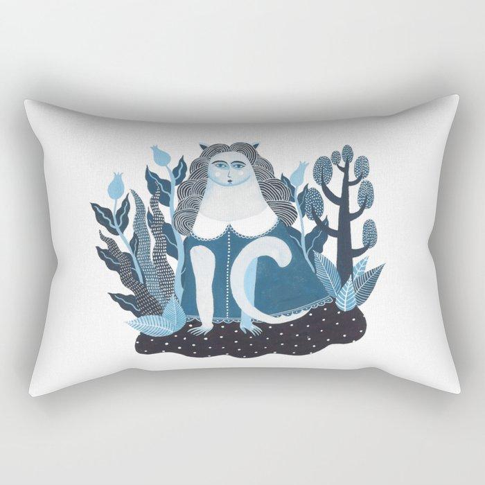 We are cats inside Rectangular Pillow