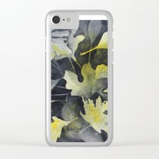 Leaf Study Clear iPhone Case
