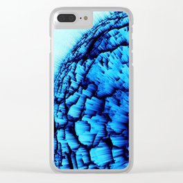 Cold Explosion Clear iPhone Case